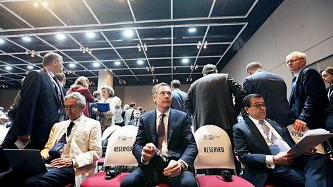 USA og Donald Trumps fremste handelsutsending Robert Lighthizer har lagt seg ut med de fleste på handel, blant andre Mexico og økonomiminister Ildefonso Guajardo (til høyre) under det pågående WTO-toppmøtet i Buenos Aires.