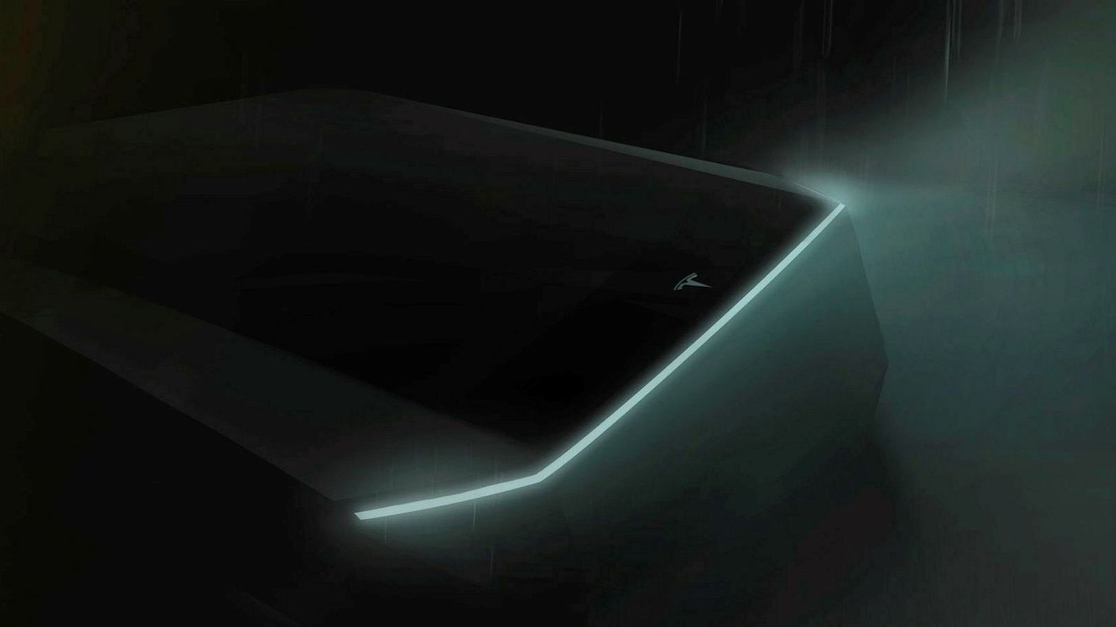 I en Twitter-melding som Elon Musk la ut lørdag, som skal vise Teslas nye cyberpunk truck.