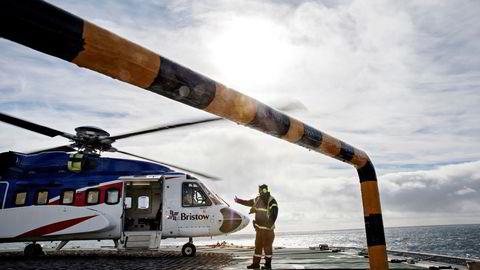 Utenlandske helikopterselskaper kan få muligheten å operere på norsk sokkel. Foto: Aleksander Nordahl