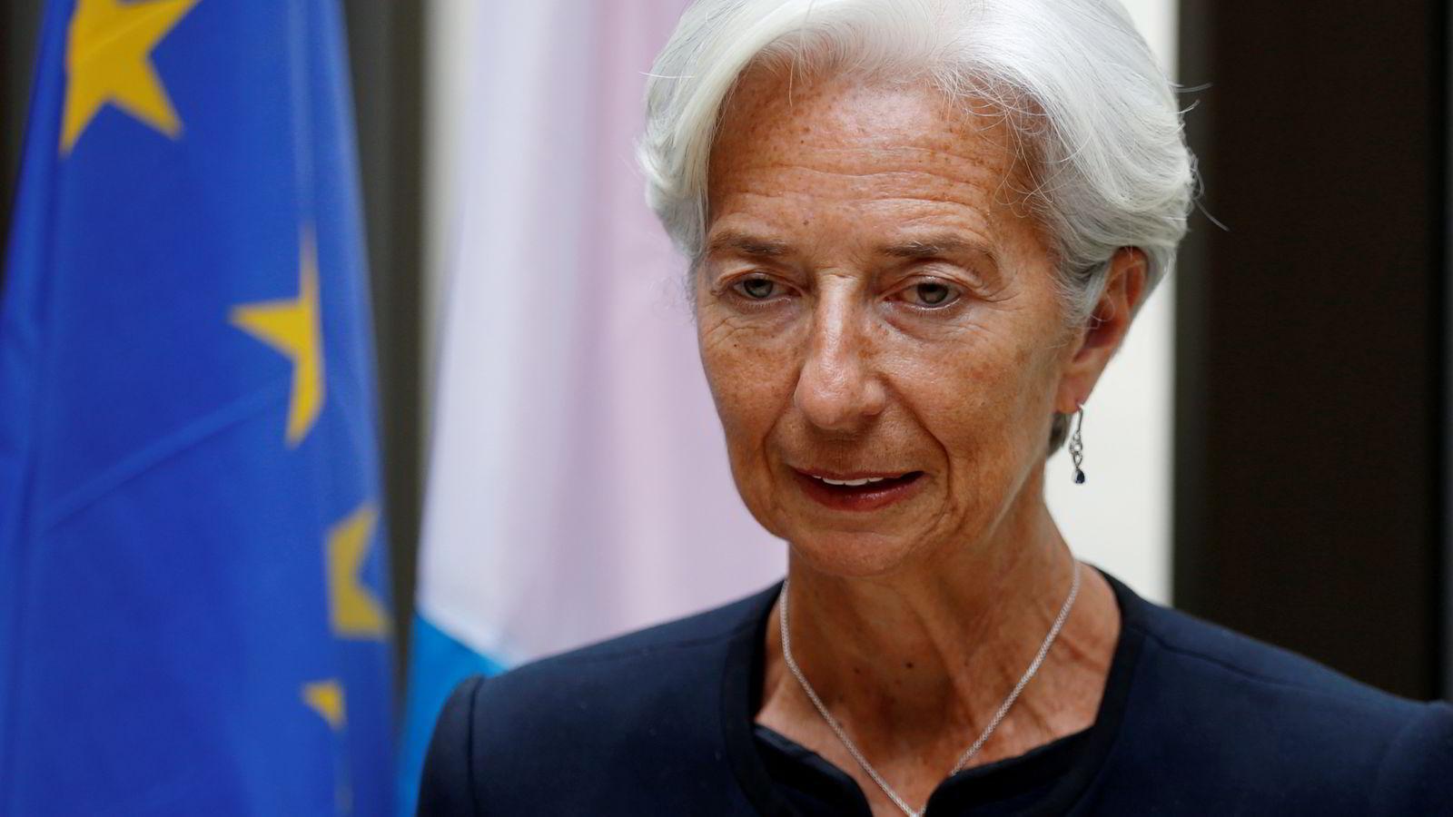 IMF-sjef Christine Lagarde har tidligere gjort det klart at Hellas ikke vil få en 30 dagers utsettelse på lånet som forfaller tirsdag.