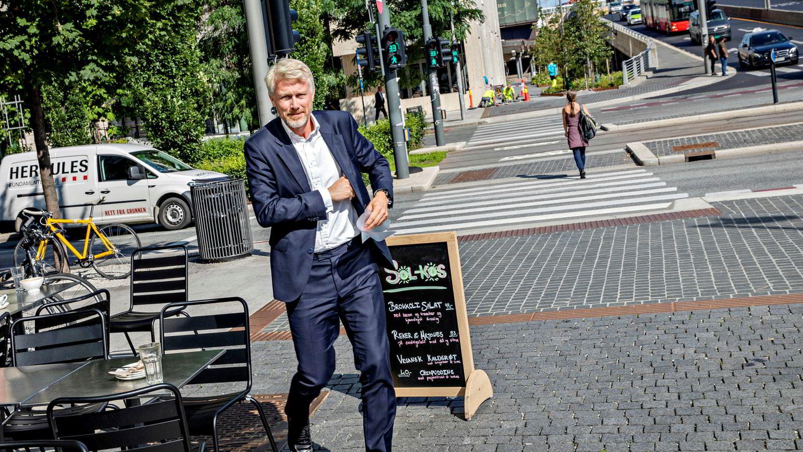 TV 2-sjef Olav T. Sandnes kan juble for sterke tall i reklamemarkedet i 2019.