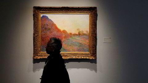 Dette Monet-maleriet ble solgt for nesten én milliard kroner.