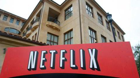 Norske Netflix-abonnenter har nesten de høyeste abonnementsprisene av 78 land. Bildet viser hovedkontoret til Netflix i Los Gatos i California i USA.