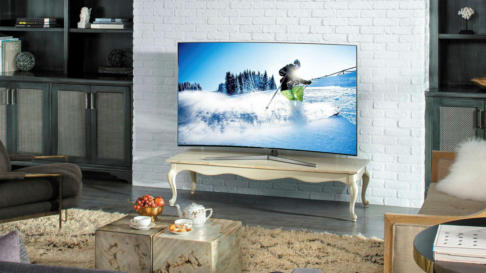 En større tv øker opplevelsene, enten det er snakk om OL, spill eller film.