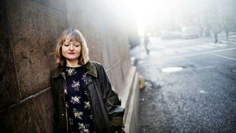 Marthe Ramm Fortun er kunstner og aktuell med utstillinger i Brussel og Stavanger. Foto: Linus Sundahl-Djerf