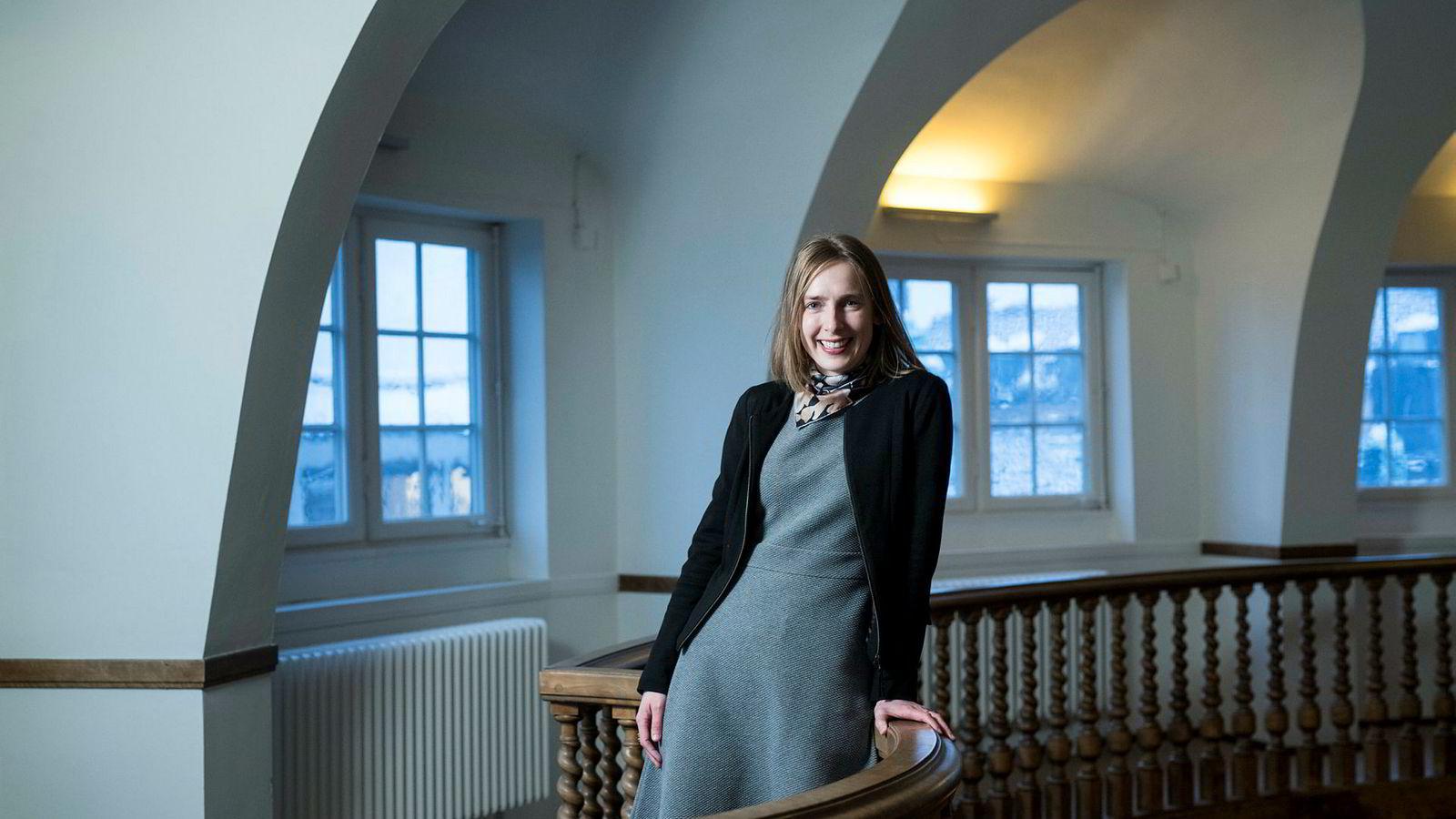 Forsknings- og høyere utdanningsminister Iselin Nybø er fornøyd med at Norge er med på utviklingen av superdatamaskinen.