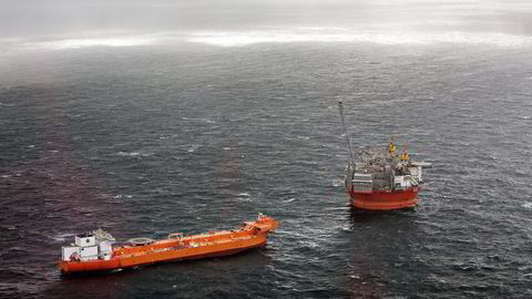 Arkivbilde. Oljeplattformen Goliat i Barentshavet. Foto: Aleksander Nordahl