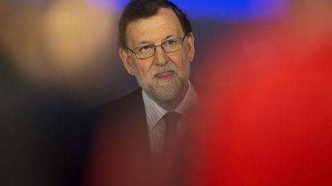 Spanias fungerende statsminister Mariano Rajoy. Foto: AP/Francisco Seco/NTB SCANPIX