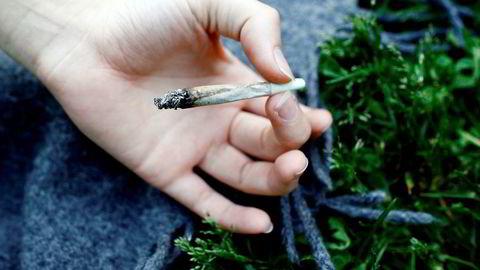 Ungdommer over hele landet har svart på spørsmål om sin cannabisbruk i undersøkelsen. Foto: Sara Johannessen / NTB Scanpix