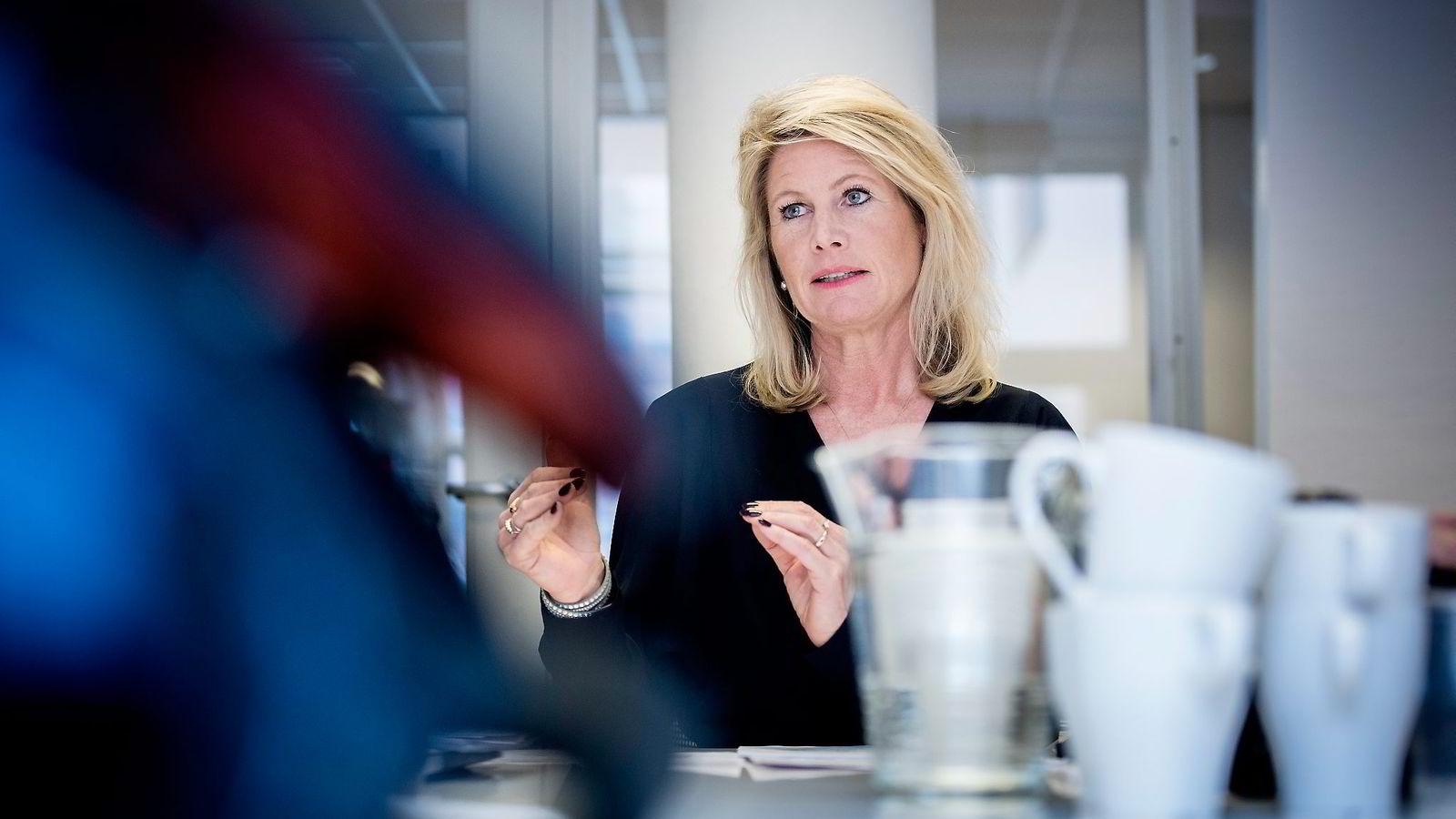Westerdals-rektor Tine Widerøe er tilfreds med at mange elever takket ja til skolens forlikstilbud.