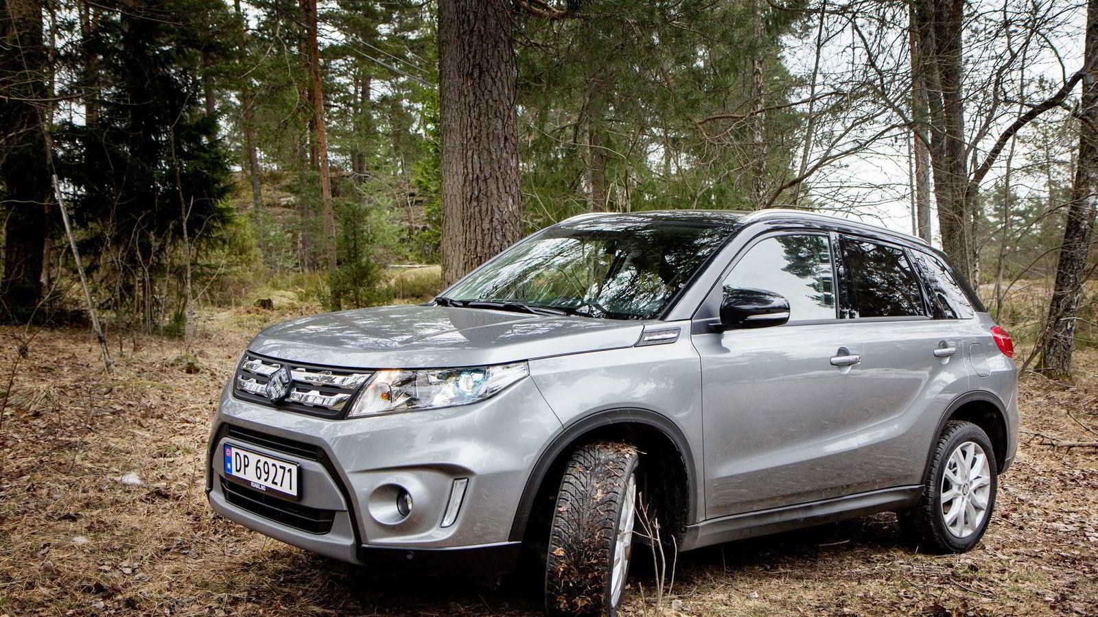 Ny bestselger? Importøren har et mål om å selge 2500 eksemplarer i året av nye Suzuki Vitara.
