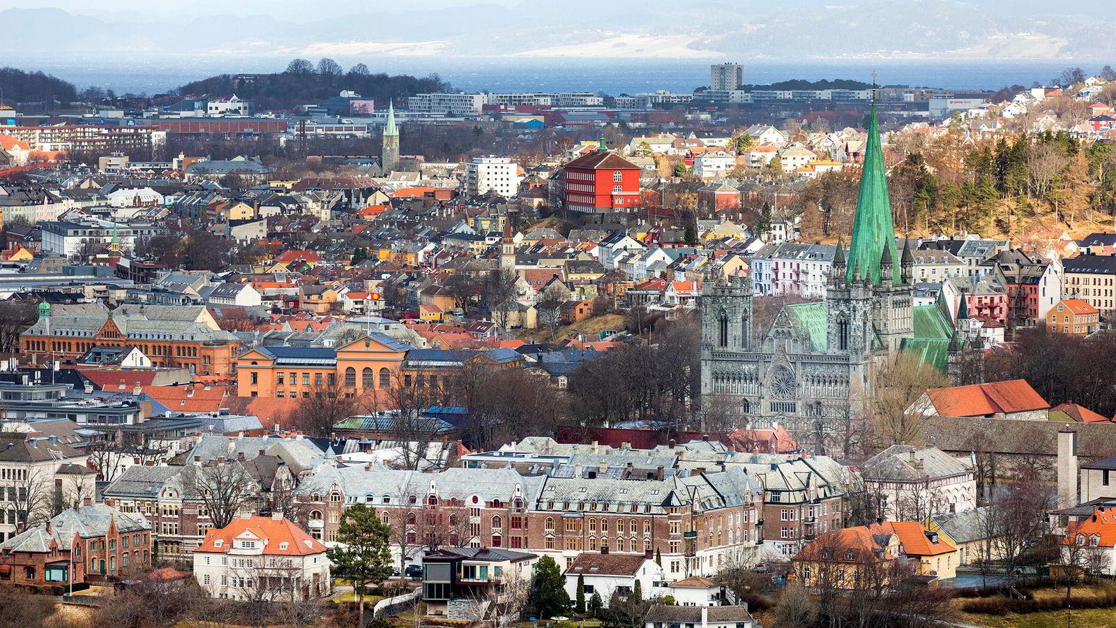 Boligprisene i Trondheim er 0,8 prosent lavere enn for et år siden.