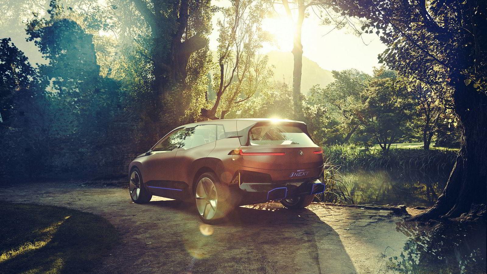 BMW Vision iNext viser hvordan BMW elbil som kommer i 2021 vil se ut.