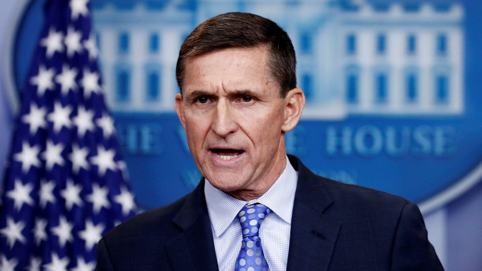 USAsnasjonale sikkerhetsrådgiver Michael Flynn.