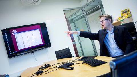 Funcoms driftsdirektør Ole Schreiner sier første kvartal er tidenes beste for Funcom. Foto: Thomas T. Kleiven