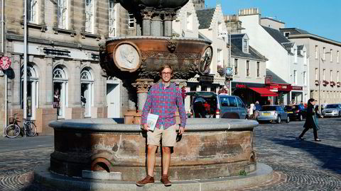 TIDLIG START. Vil du studere i Storbritannia neste høst kan det være lurt å starte søknadsprosessen allerede nå, skriver DN Talent-blogger Haakon Berge Wiken som studerer i Skottland. Foto: Privat