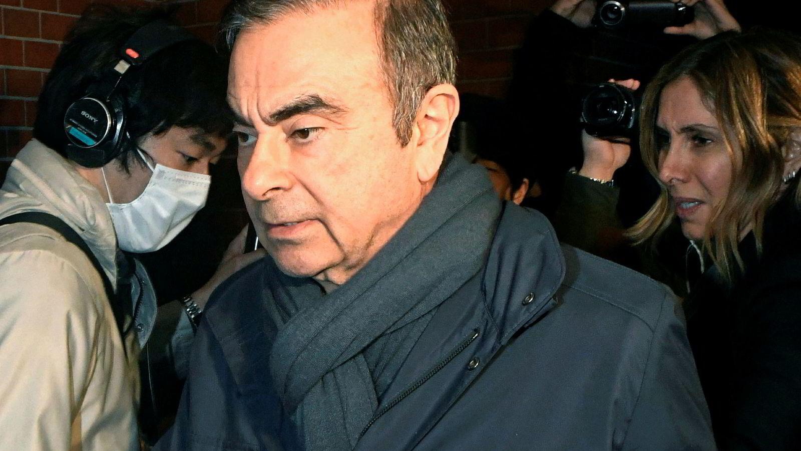 Carlos Ghosn er innvilget kausjon i Japan nok en gang.