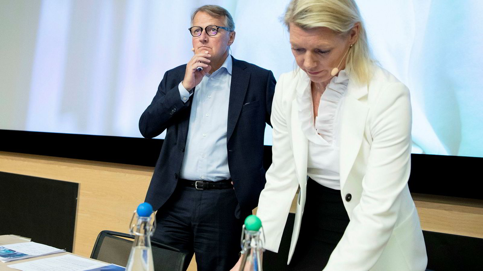 1. september sender DNB-sjef Rune Bjerke stafettpinnen videre til finansdirektør Kjerstin R. Braathen. Han leverer fra seg en bank som er mer solid enn før.