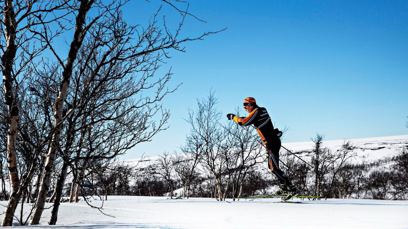 f69acc81 Langdistanseskiløper Petter Eliassen har perfekte forhold for sporten sin i  Alta. Her trener stakeeksperten gjerne