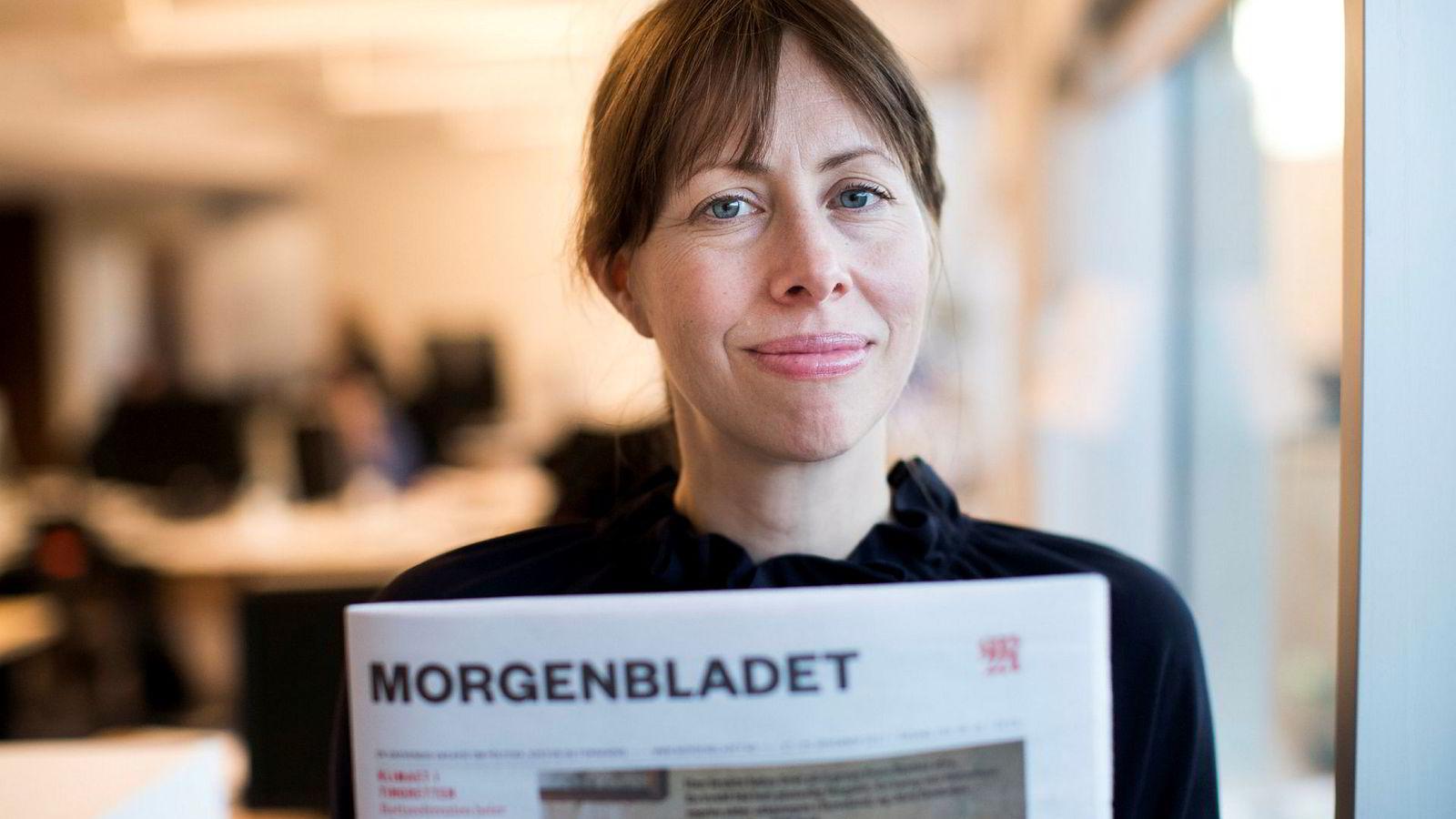 Sjefredaktør i Morgenbladet Anna B. Jenssen er kommet på kant med mange av fagfolkene sine.