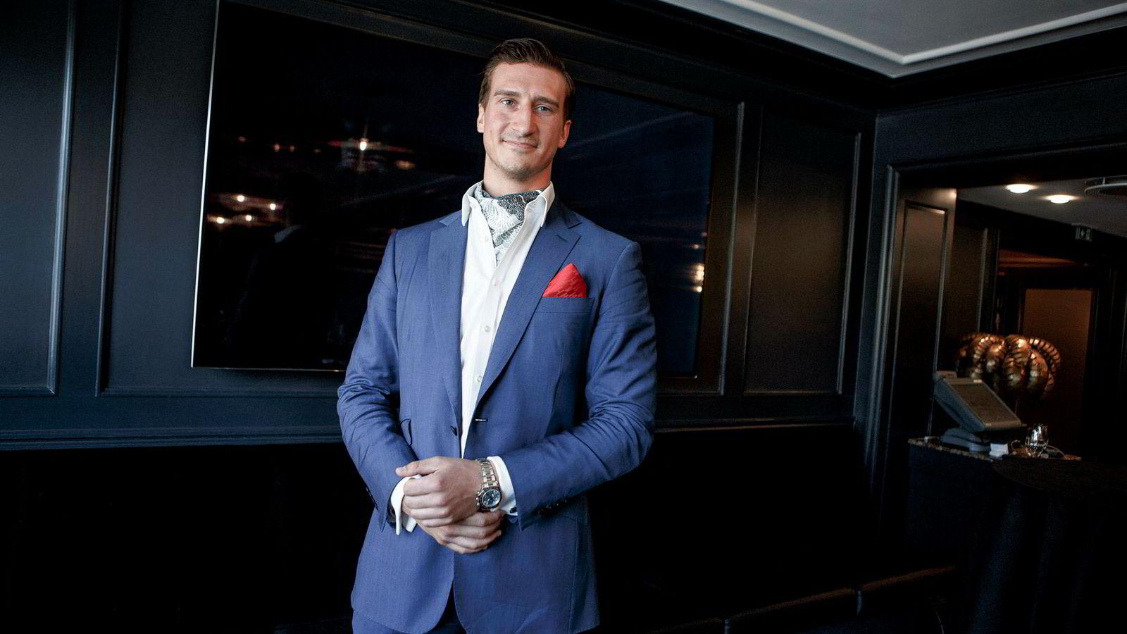 Belgieren Pierre Vannineuse (27) er administrerende direktør i Alpha Blue Ocean som har inngått en låneavtale med it-selskapet Induct.