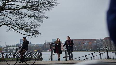 Aleksandra Maria Kjemhus og kjæresten Anders Fløysund ville starte karrieren i utlandet og har flyttet til København.