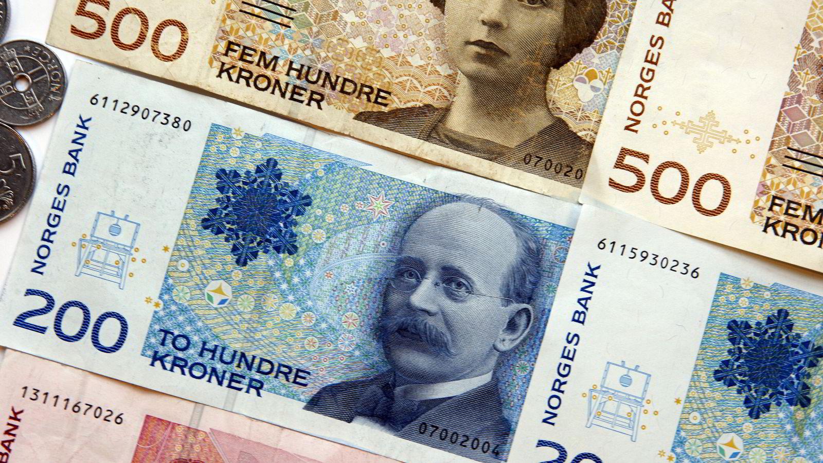 OPPDATERING. Norges Bank gjennomfører en kvartalsvis undersøkelse der banker får spørsmål om utlån til bedrifter og husholdninger. Foto:  Gorm Kallestad  / SCANPIX .