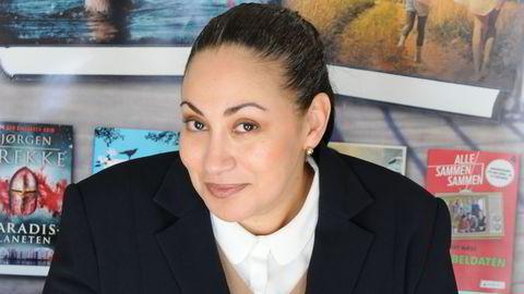 Sarah Natasha Melbye har tidligere vært programleder i TV 2-programmer som «Ettermiddagen», «Vil du bli millionær?» og «Big Brother». Foto: Juritzen Forlag