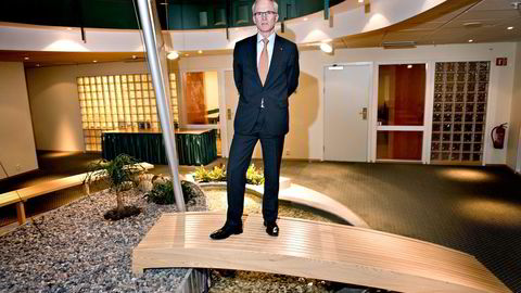 Olav Fjell legger ikke skjul på at han slutter som styreleder i Statkraft mot sin egen vilje. Samtidig understreker han at Thorhild Widvey har solid kompetanse som ny styreleder. Foto: Elin Høyland