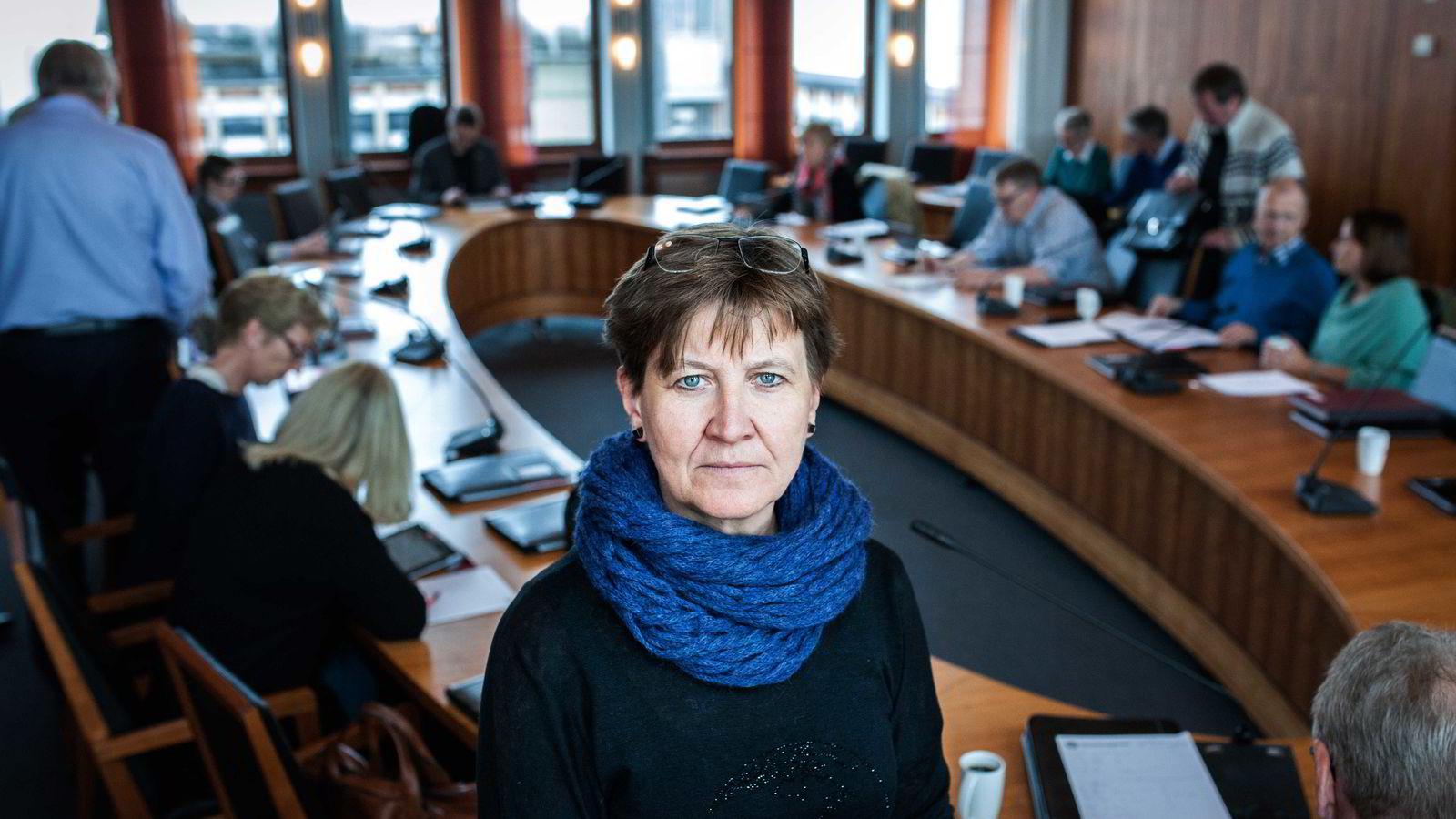 Mette Nord, leder i LOs største forbund, avviser mange av kravene fra motparten Spekter