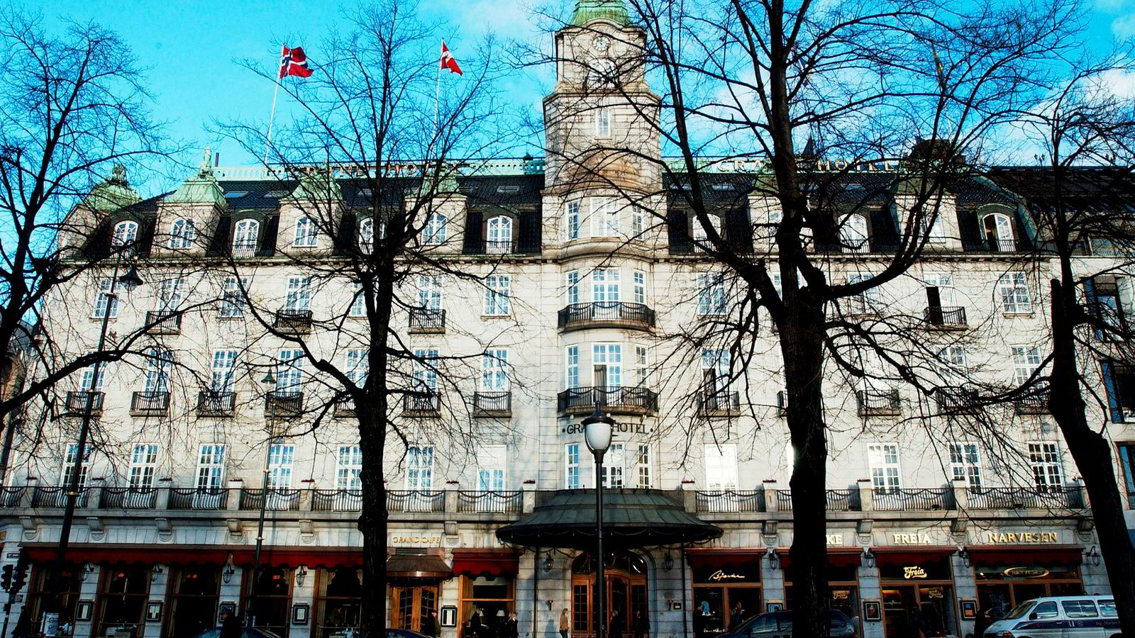 Scandic økte hotellporteføljen i Norge med syv hoteller i 2017, blant annet overtok Scandic driften av Grand Hotel i Oslo.