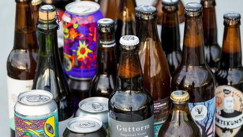 Noe for enhver smak. Et utvalg nye, norske ølsorter på Vinmonopolet.