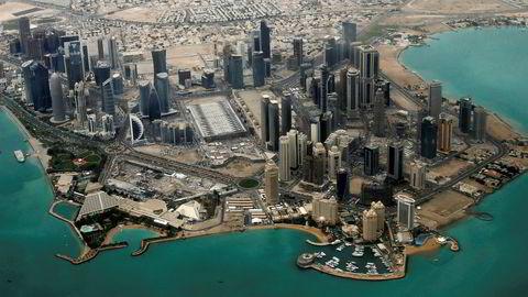 Qatars hovedstad Doha.