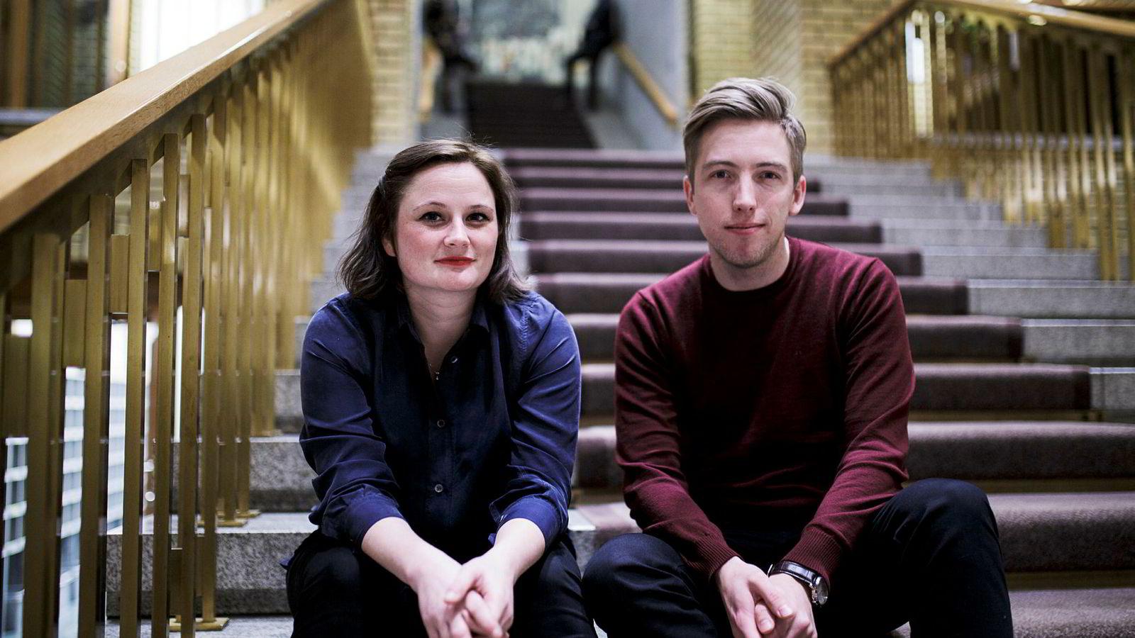Marie Melgård og Lars Joakim Skarvøy er begge ute av VGs politiske avdeling etter Bar Vulkan-saken.