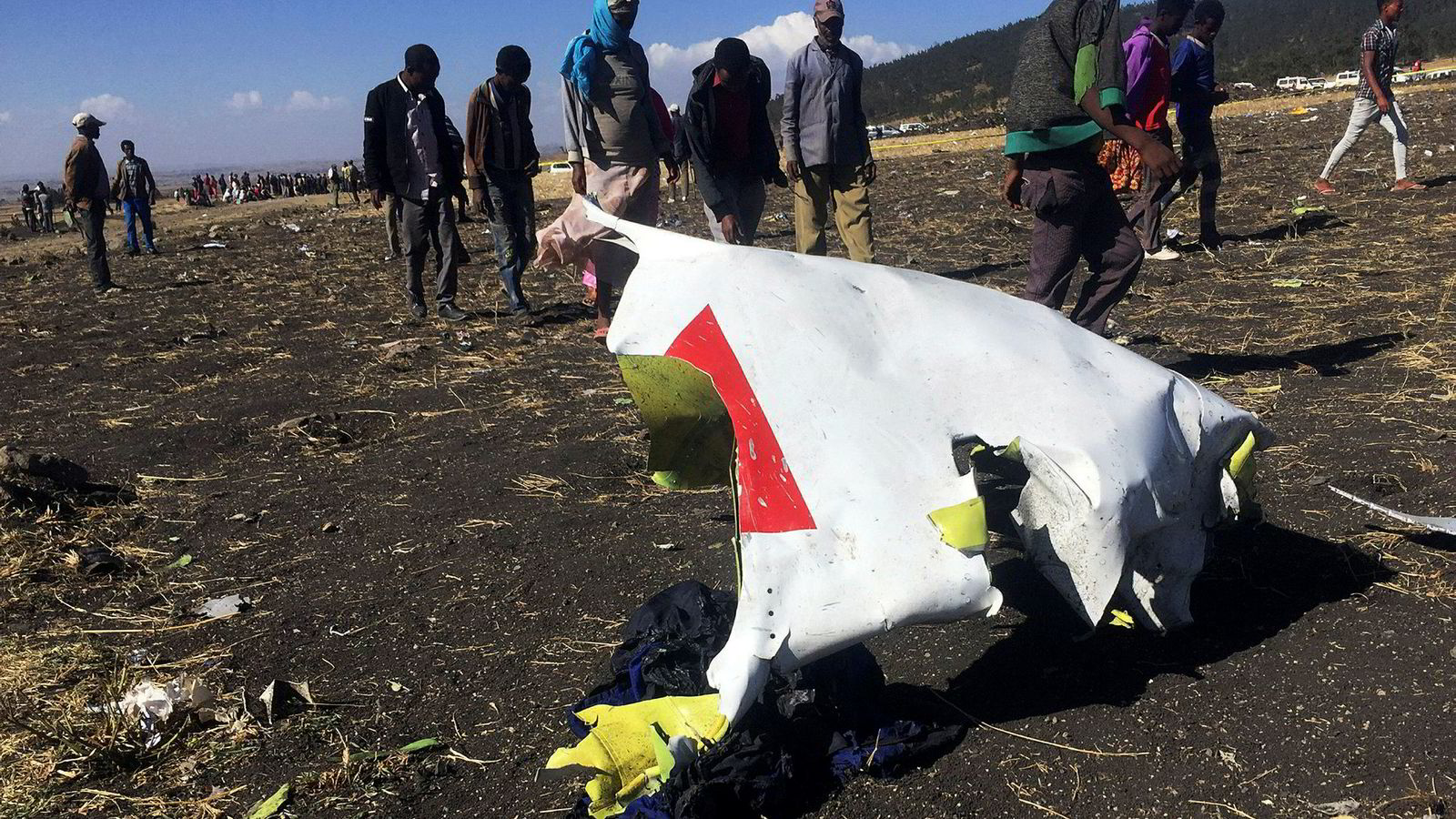 Flyet styret i nærheten av byen Bishoftu – sørøst for Addis Ababa.