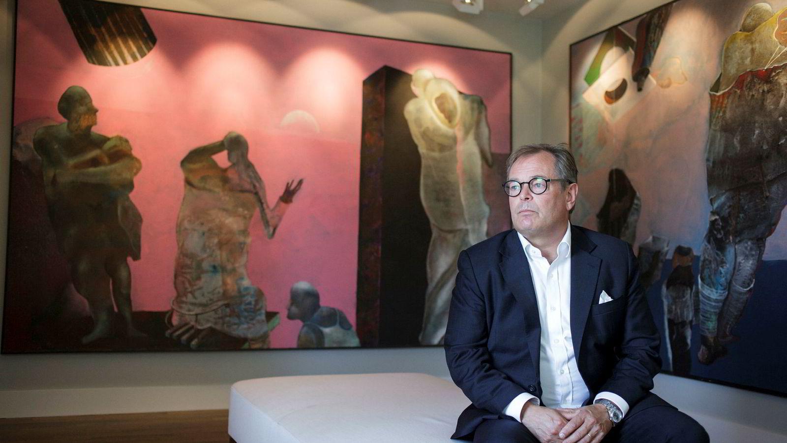 Administrerende direktør Knut Brundtland i ABG Sundal Collier sier det svake resultatet blant annet skyldes få børsnoteringer.