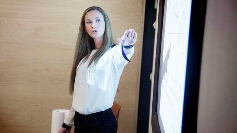 Analytiker Jeanette Strøm Fjære i DNB Markets.