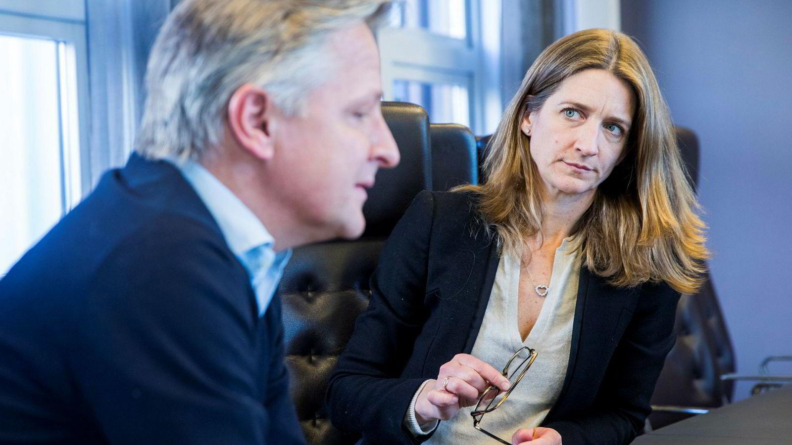 Partner og styreleder Claus Sonberg og partner og daglig leder Anniken Haugen Jebsen i Zynk.