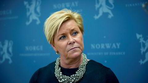 Kommunenumre koster for Siv Jensens skatteetat.