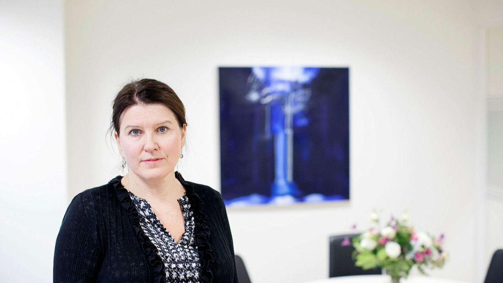 Kari Sollien, leder i Akademikerne.