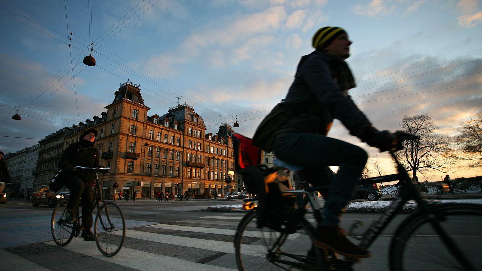 I København er boligprisveksten mye sterkere enn i resten av Danmark Illustrasjonsfoto: Colourbox.