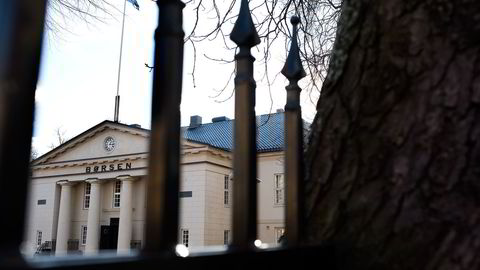 Hovedindeksen på Oslo Børs steg 1,3 prosent tirsdag. Foto: Per Ståle Bugjerde