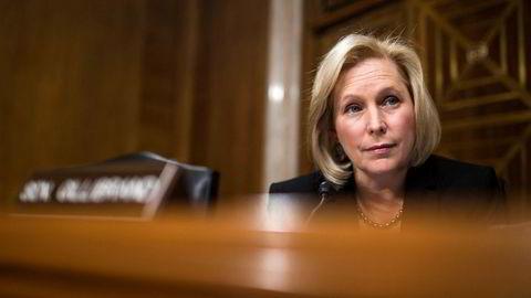 Demokraten Kirsten Gillibrand vil bli president.