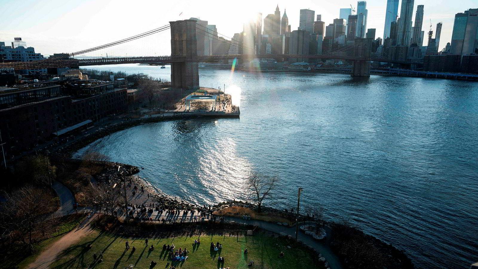 Stigningen i havnivået kan ramme New York og store byer hardt.