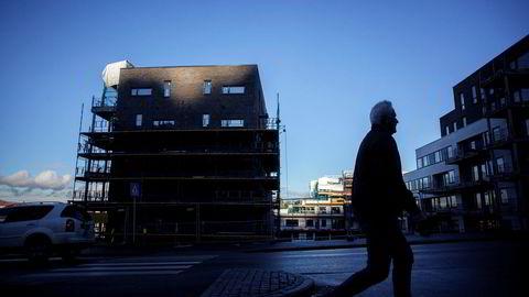 Boligbygging i Kværnerbyen i Oslo.