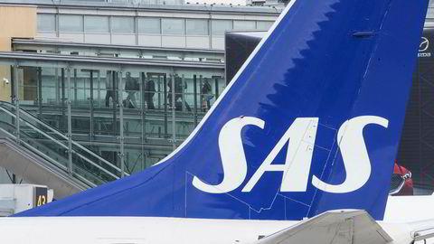 SAS har oppdaget feil i to av de 31 Boeing 737 NG-flyene som er undersøkt etter at det ble funnet sprekker ved flyets vinger på denne flytypen i Kina. Foto: Vidar Ruud / NTB scanpix
