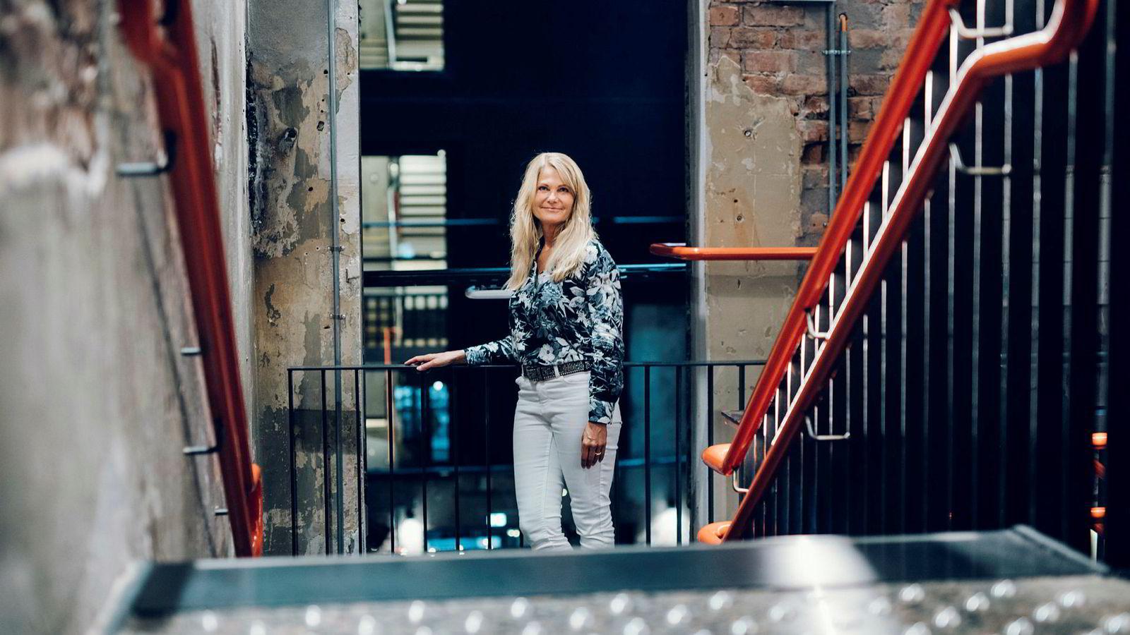 Daglig leder Merete Mandt Larsen i Mediebyråforeningen.
