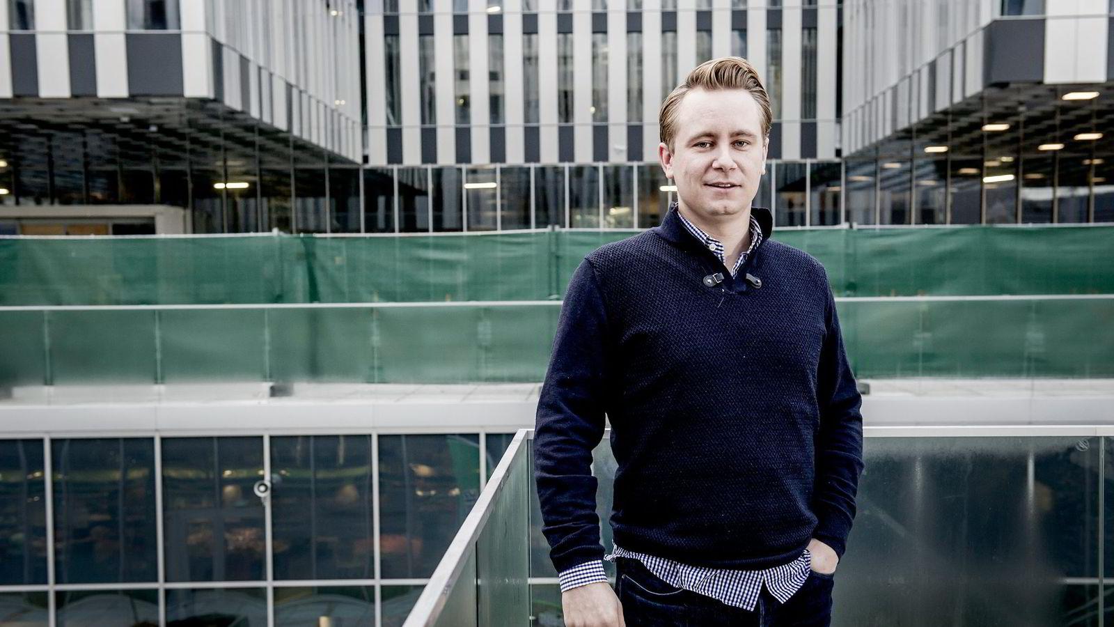 Kristian Røkke, sjef i Aker-eide Akastor. Foto: Gorm K. Gaare