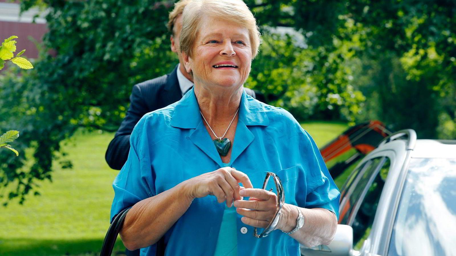 Gro Harlem Brundtland får styreverv av Kjell Inge Røkke.  Foto: Cornelius Poppe, NTB/ Scanpix