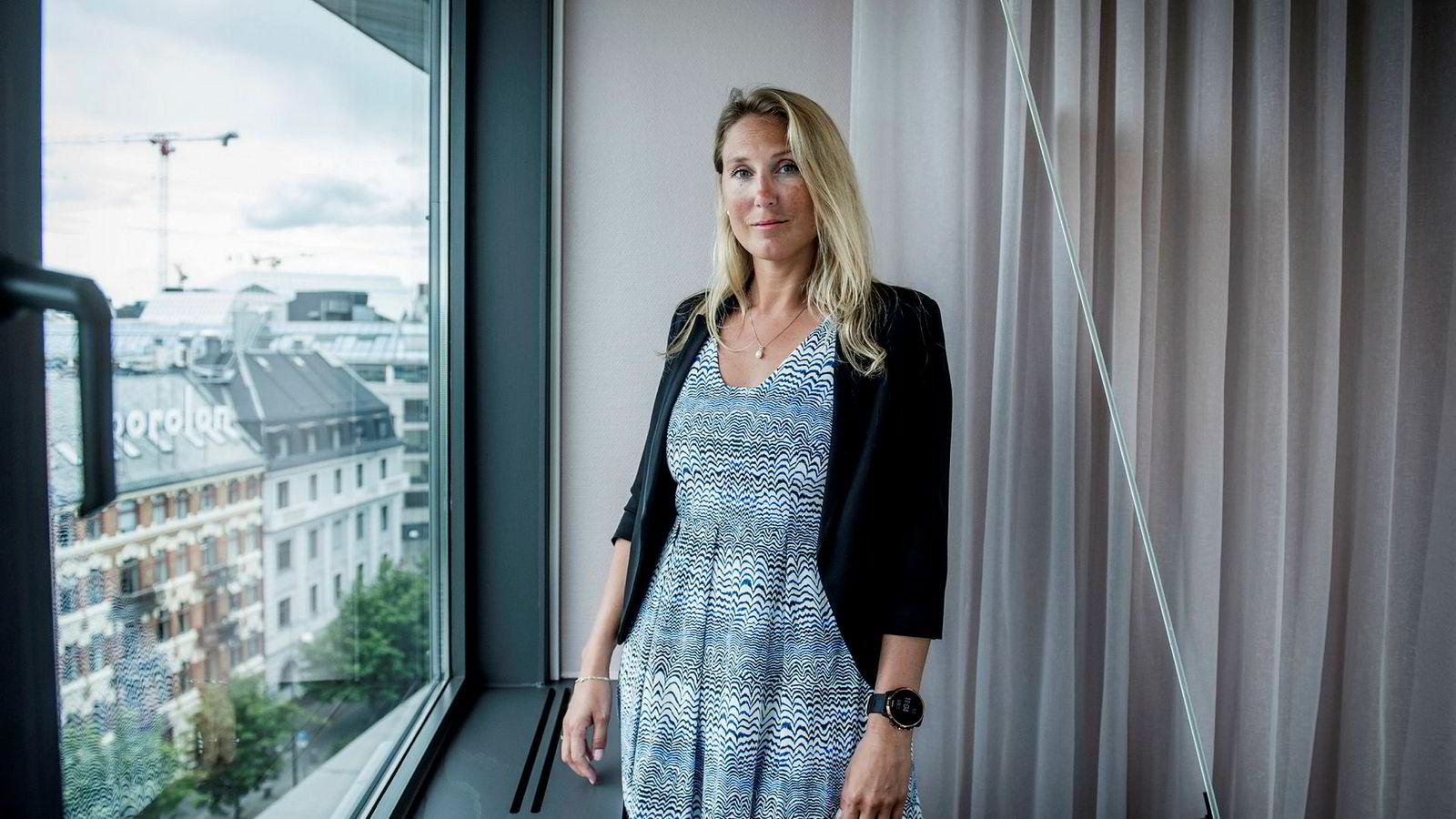 Sjefstrateg Erica Blomgren Dalstø i SEB Bank.
